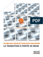 ISO 9001_2015 Checklist La transition