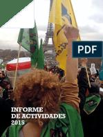 GRAIN Informe de Actividades 2015