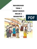 RANGKUMAN TEMA 1 KELAS 2.docx