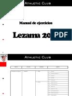 Manual de Ejercicios Athleticclub Futbol