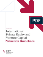 IPEV Valuation Guidelines - December 2018
