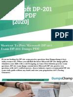 Microsoft Azure DP-201 Exam Dumps | Get Valid DP-201 Exam Practice Questions