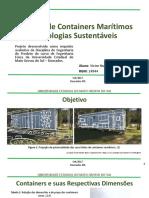 Casas de Containers Marítimos e Tecnologias Sustentáveis