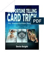 Devin Knight - Fortune Telling Card Trick