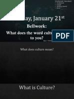 unit 5 culture ppt