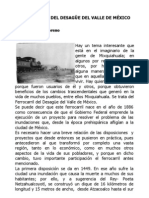 FERROCARRIL DEL DESAGÜE DEL VALLE DE MÉXICO - Milton Flores Moreno