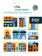 New York City Advisory Commission Report on Property Taxes