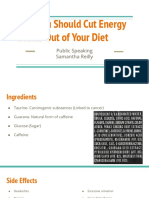 why you should cut energy drinks out of your diet