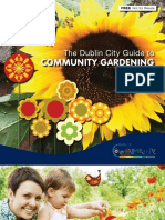 Guide to Community Gardening, Dublin City, California