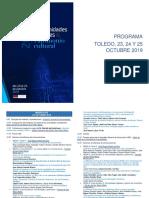 2019- Congreso Humanidades Digitales Hispánicas- Programa