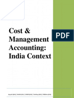 CMA - Assignment - Cost and Management Accounting - Indian Context - Sec A - 001, 031, 033, 036, 041-1_final.pdf