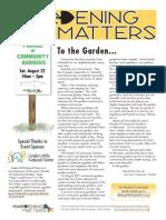 Minneapolis Community Gardens