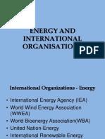 Energy International Organisations