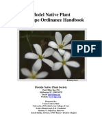 Model Native Plant Landscape Ordinance Handbook