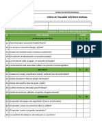Check List Taladro Manual MPM