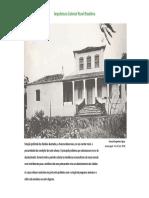 AD - SD - Arquitetura Colonial Rural Brasileira