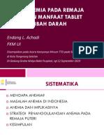 Anemia pada Remaja dan Manfaat  TTD.ppt