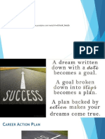 Week #3 - goal setting career action plan