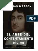 El Arte del Contentamiento Divino -Thomas Watson