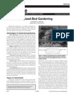 Raised Bed Gardening - UNIVERSITY OF MISSOURI EXTENSION