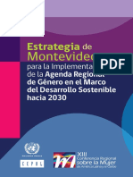 Estrategia de Montevideo CEPAL 2016