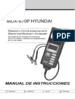 167-000147A MDX-670P Instruction Manual Hyundai ES-1