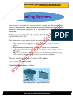 Cooling Systems(Automobiles) PDF