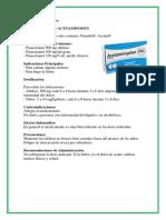 medicamentos antipirecticos