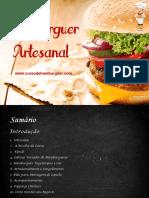 Curso de Hamburguer Artesanal para abrir hambugueria