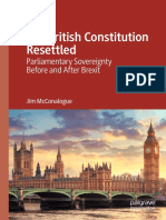 The British Constitution Resettled - Parliamentary Sovereignty Before and After Brexit