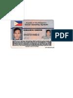 SSS ID EVIDENCE
