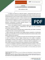 Programa de Historia de la Educación Argentina y Latinoamericana