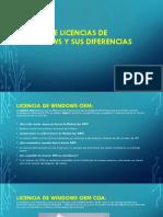 Tipos de licencias de Windows y sus diferencias