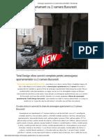 Ce Este Inclus in Serviciul La Cheie de Amenajare Apartament Cu 2 Camere Bucuresti