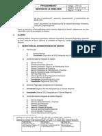 P01-01 Gestion de La Direccion V04_15 11 16