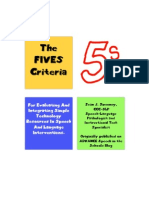 Fives Booklet