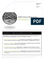 AWS Cloud Migration Helping Organizations Conduct Large Scale Cloud Migration imp vvvvV