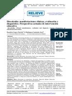 Discalculia manifestaciones clinicas, evaluacion y diagnostico 2019
