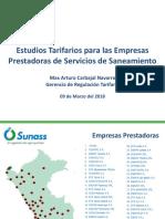 Estudios Tarifarios para las Empresas Prestadoras.pdf