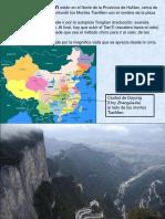 Los Montes Tian Men