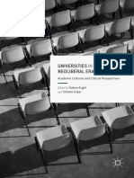 [Palgrave Critical University Studies] Hakan Ergül, Simten Coşar (eds.) - Universities in the Neoliberal Era_ Academic Cultures and Critical Perspectives  (2017, Palgrave Macmillan UK)