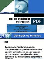 Rol del Diseñador - Quisqueya.ppt