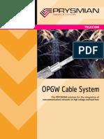 Opgw System General Brochure