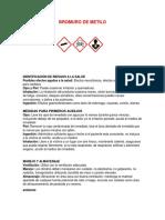 EJEMPLO DE FICHAS TECNICAS DE PRODUCTOS QUIMICOS