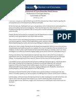 01312020 DBH Oversight Opening Statement