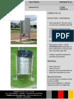 FICHAS TECNICAS CANECA M-121