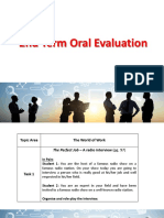 11 2nd Term oral evaluation