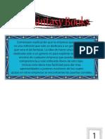 Brifin y Branding de Fantasy Books