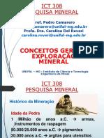 Conceitos Gerais - Exploração Mineral