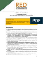 Convocatoria para la Secretaría Ejecutiva de la RCTFD